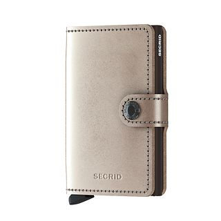 SECRID MINIWALLET METALLIC