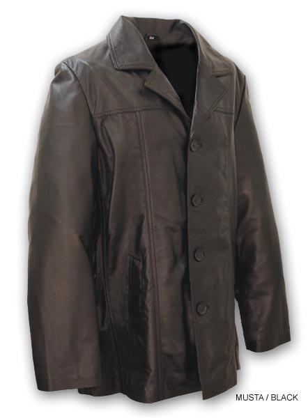 Miesten Käsilaukku : Puolipitk? nahkatakki nahka albert